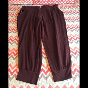 Lane Bryant plus size lounge joggers